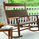 Double Patio Rocking Chair