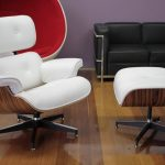 Eames Lounge Chair and Ottoman Replica