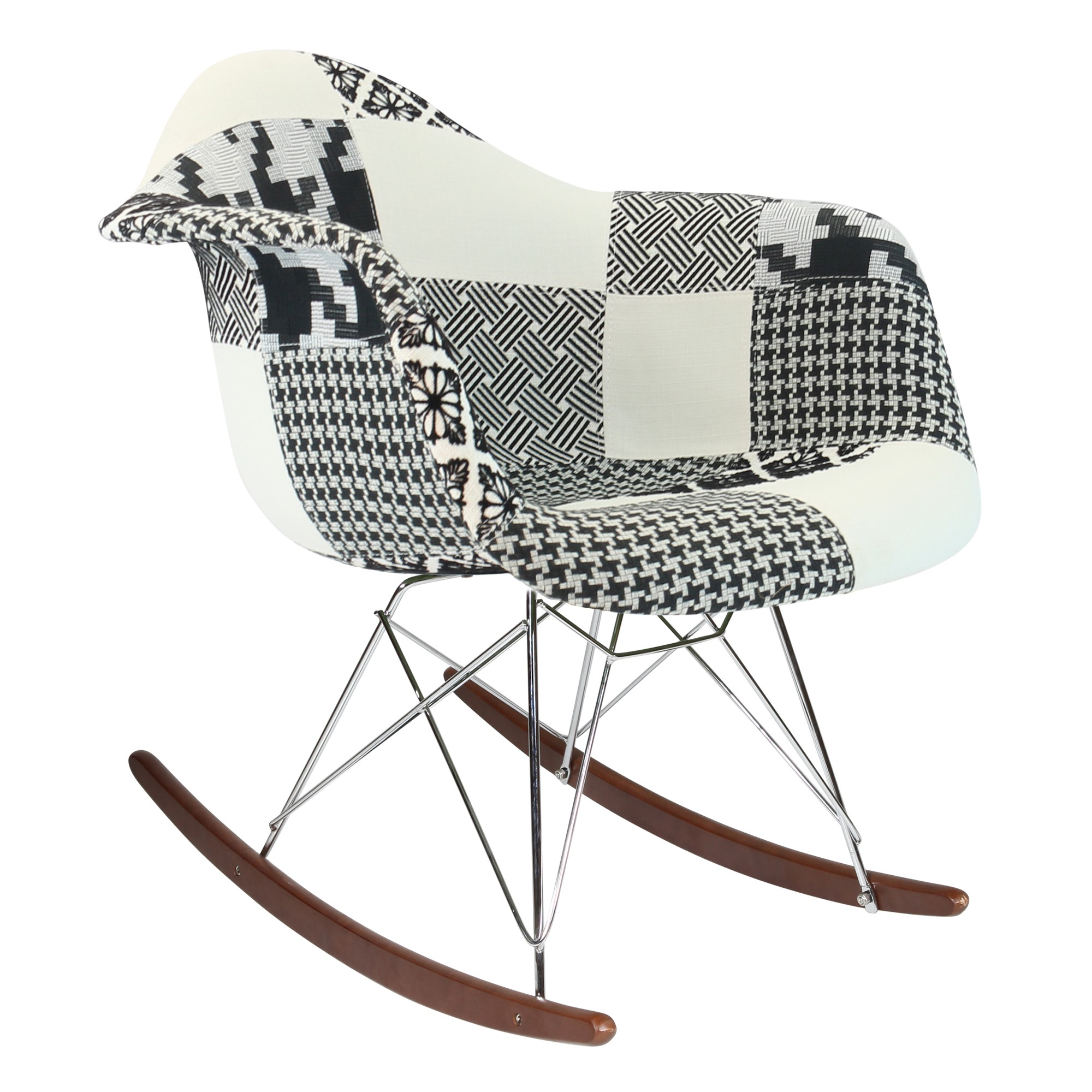 Image of: Eames Rocking Chair Furniture