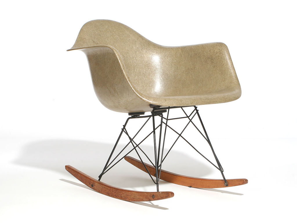 Image of: Eames Rocking Chair Ideas