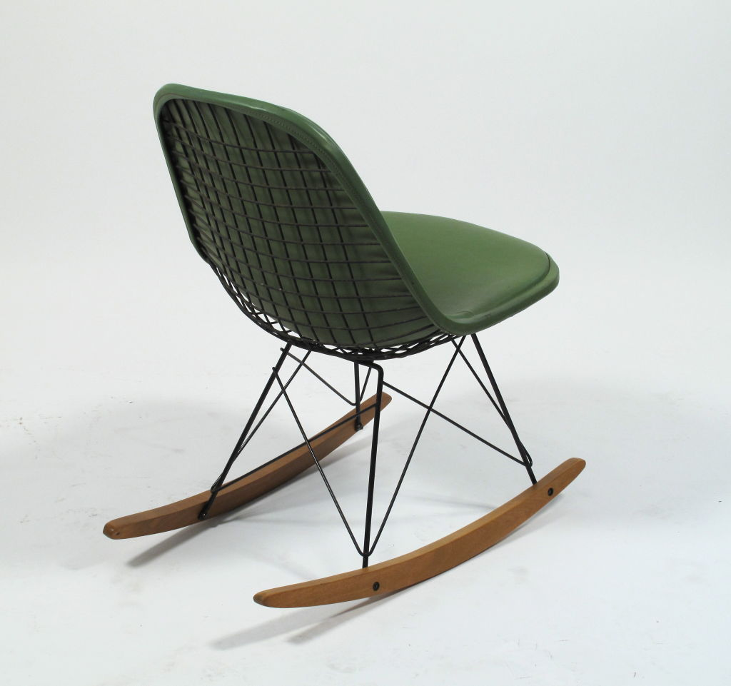 Image of: Eames Rocking Chair Image