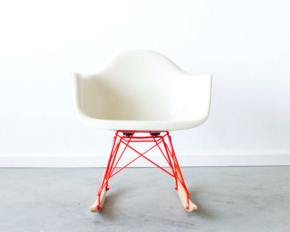 Image of: Eames Rocking Chair Photo