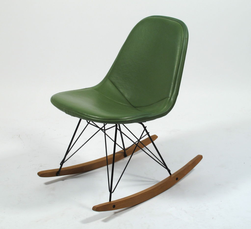 Image of: Eames Rocking Chair Picture