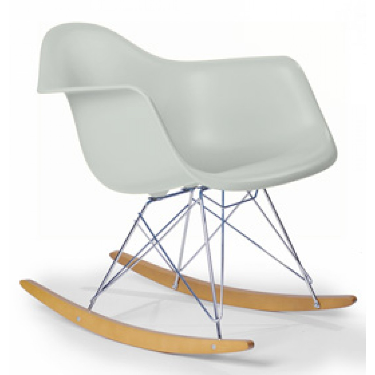 Image of: Eames Rocking Chair Style