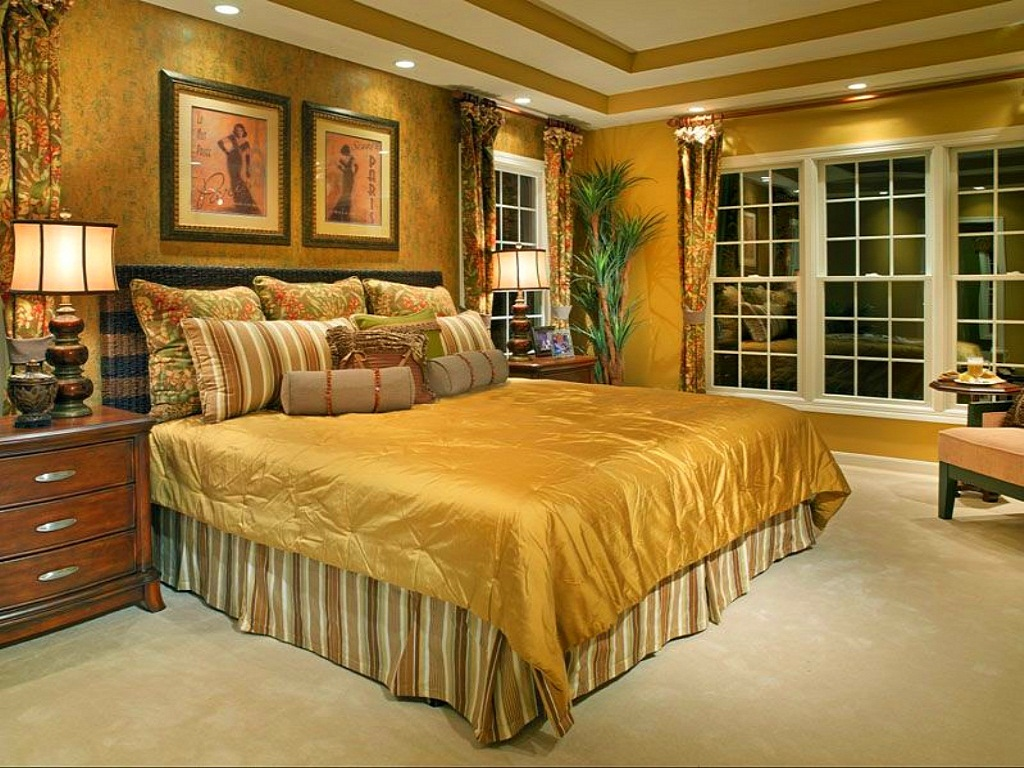 Image of: Elegant Master Bedroom Design Ideas