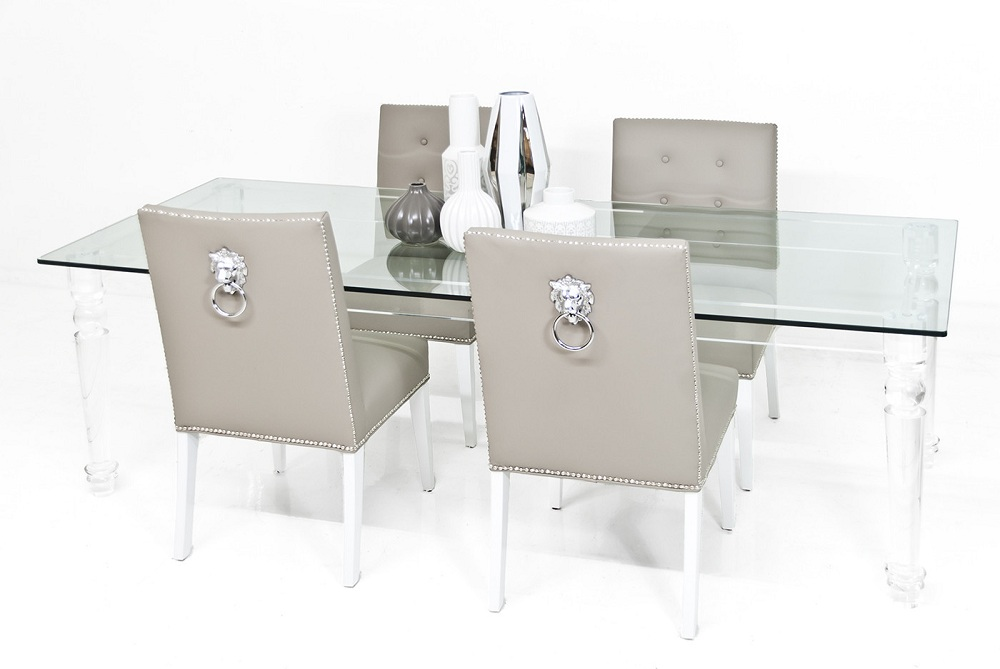 Image of: Expensive Lucite Dining Chairs