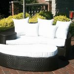 Foldable Resin Patio Chair Lounge