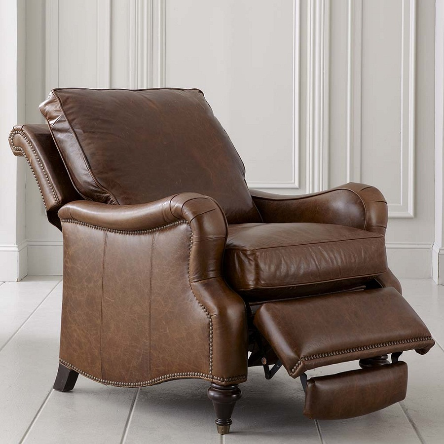 Image of: Front Oversized Recliner Chair
