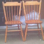 Gallery Unfinished Wood Dining Chairs