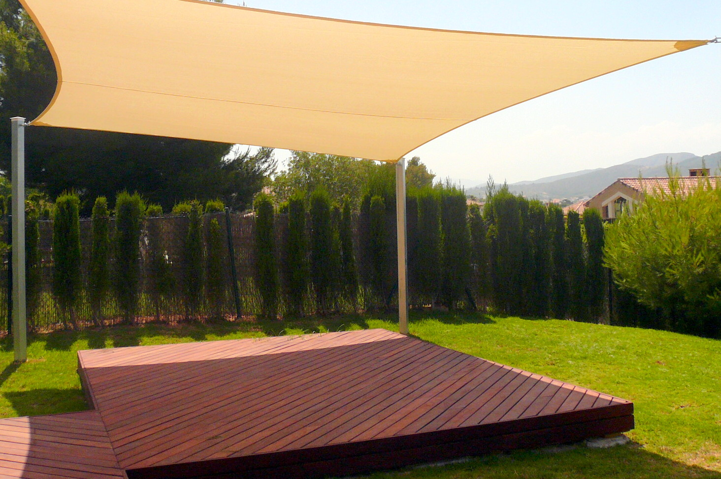Image of: Garden Patio Sun Shades