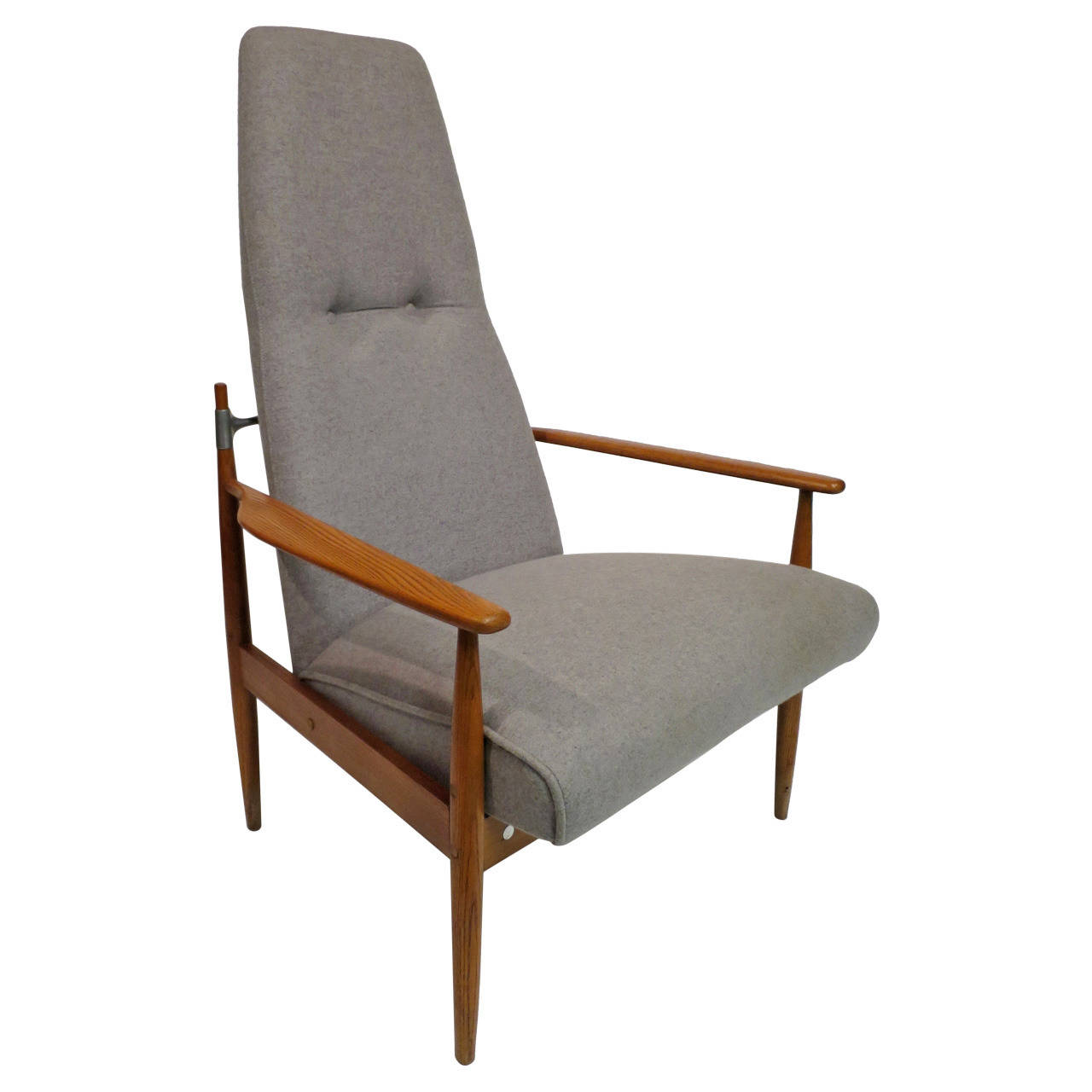 Image of: Good Mid Century Lounge Chair