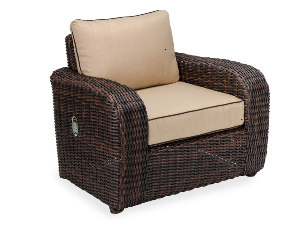 Image of: High Back Reclining Patio Chair
