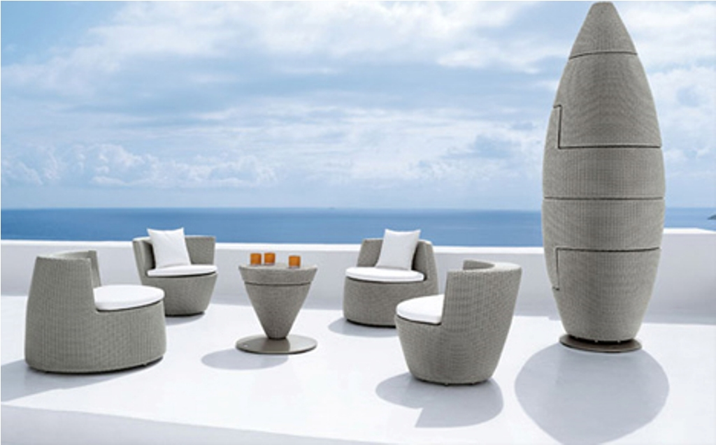 Image of: High Back Stackable Patio Chairs