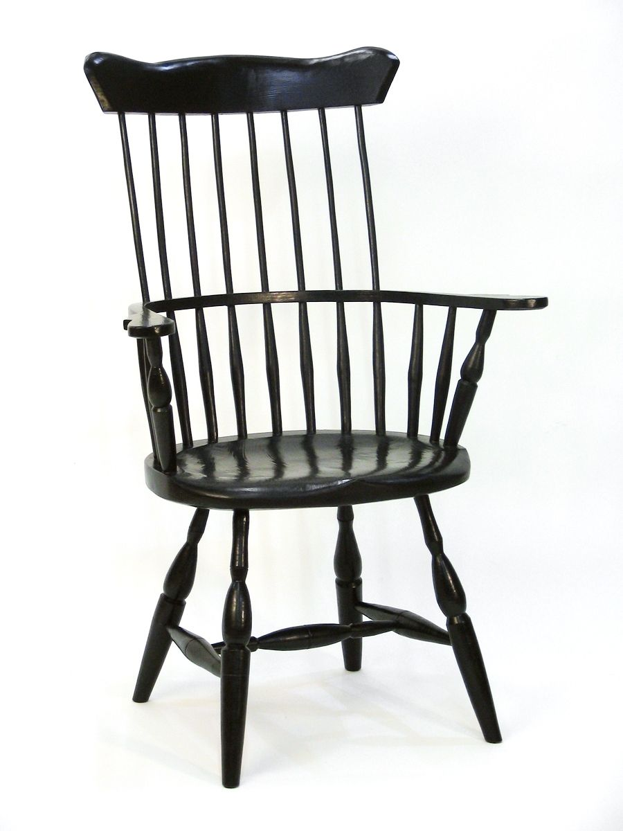 Image of: High Back Windsor Dining Chairs