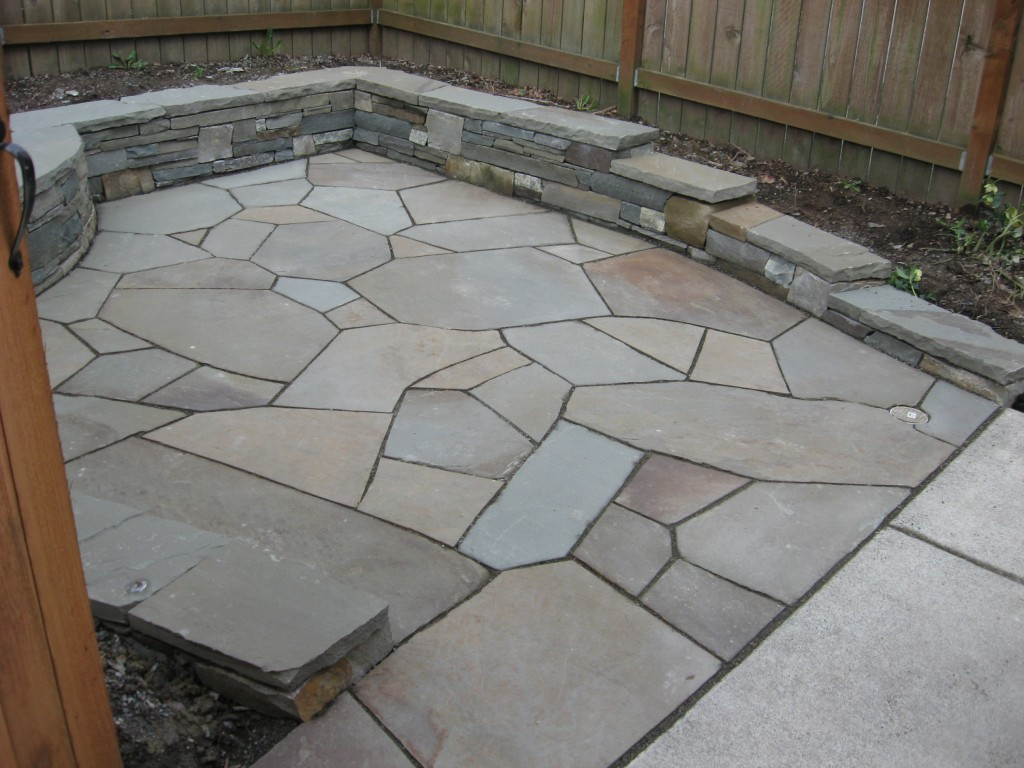 Image of: Ideas Flagstone Patio
