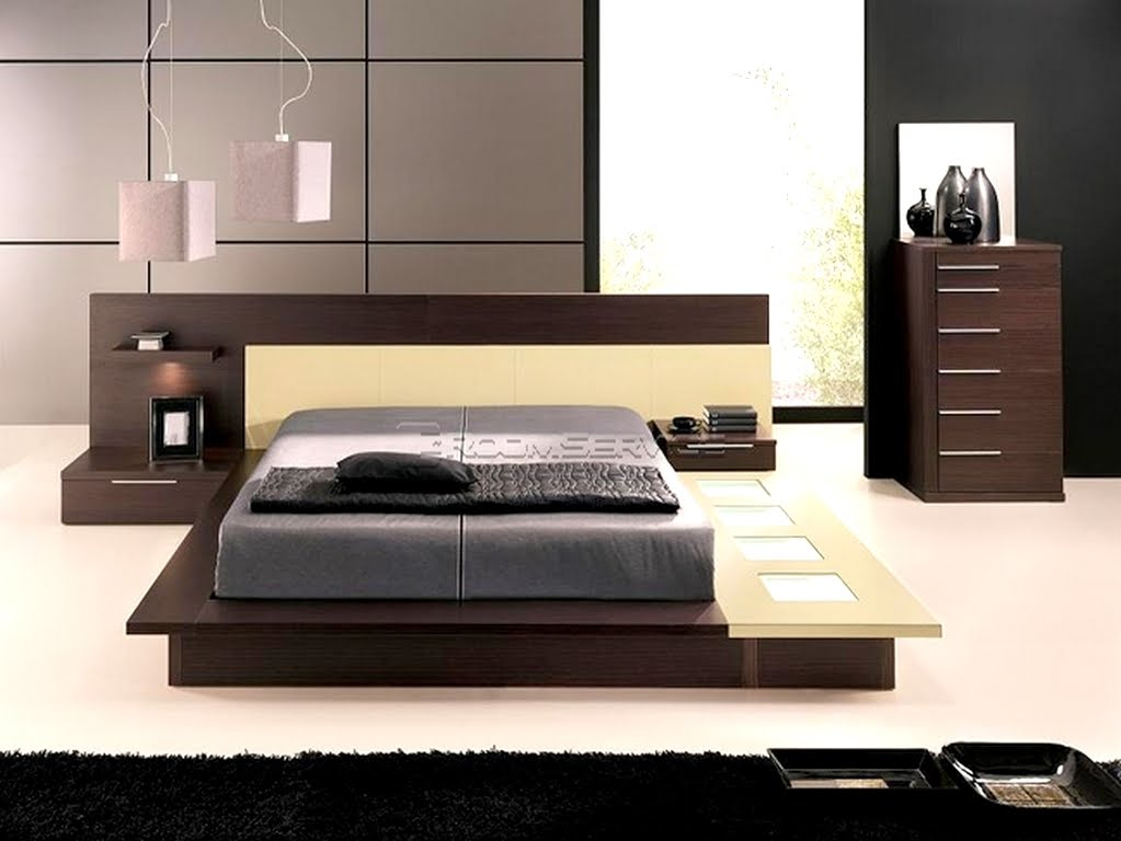 Image of: Ideas Modern Platform Bed