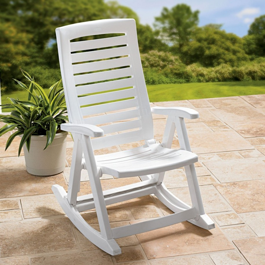 Image of: Images of Plastic Rocking Chair