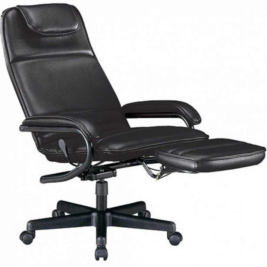 Image of: Better Reclining Office Chair With Footrest