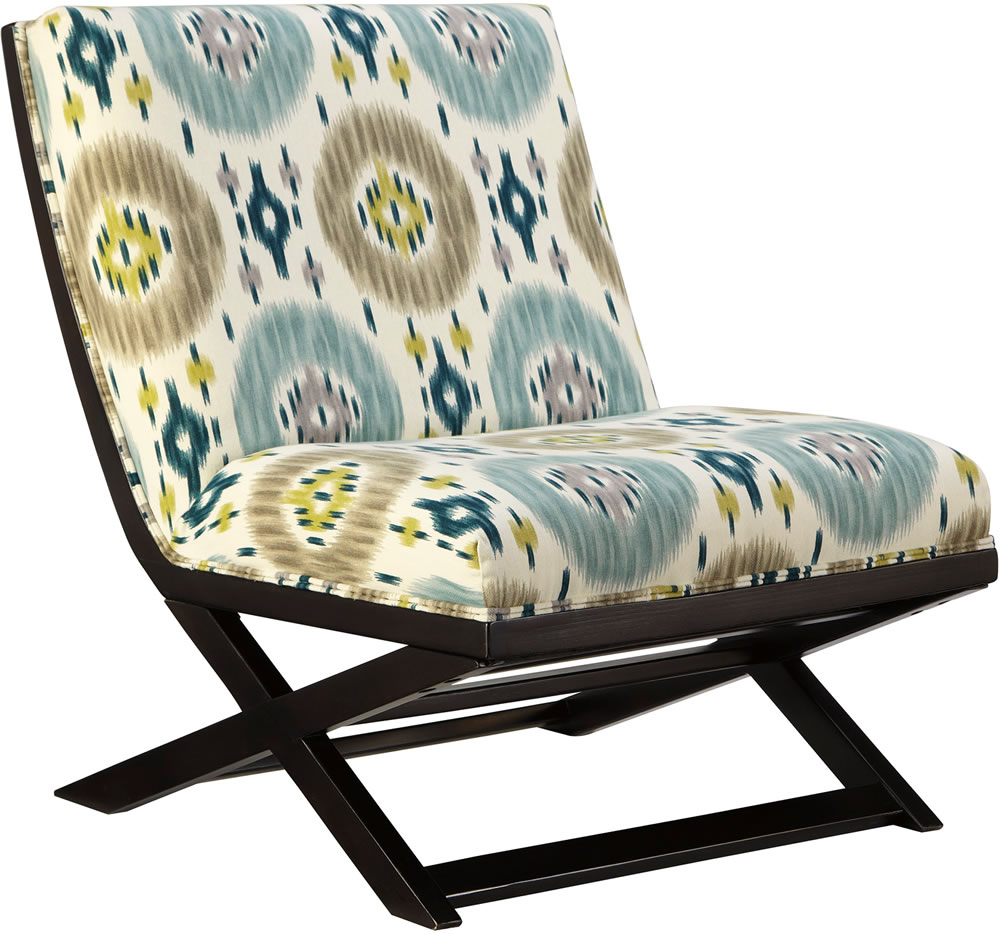 Image of: Inspiring Armless Accent Chair