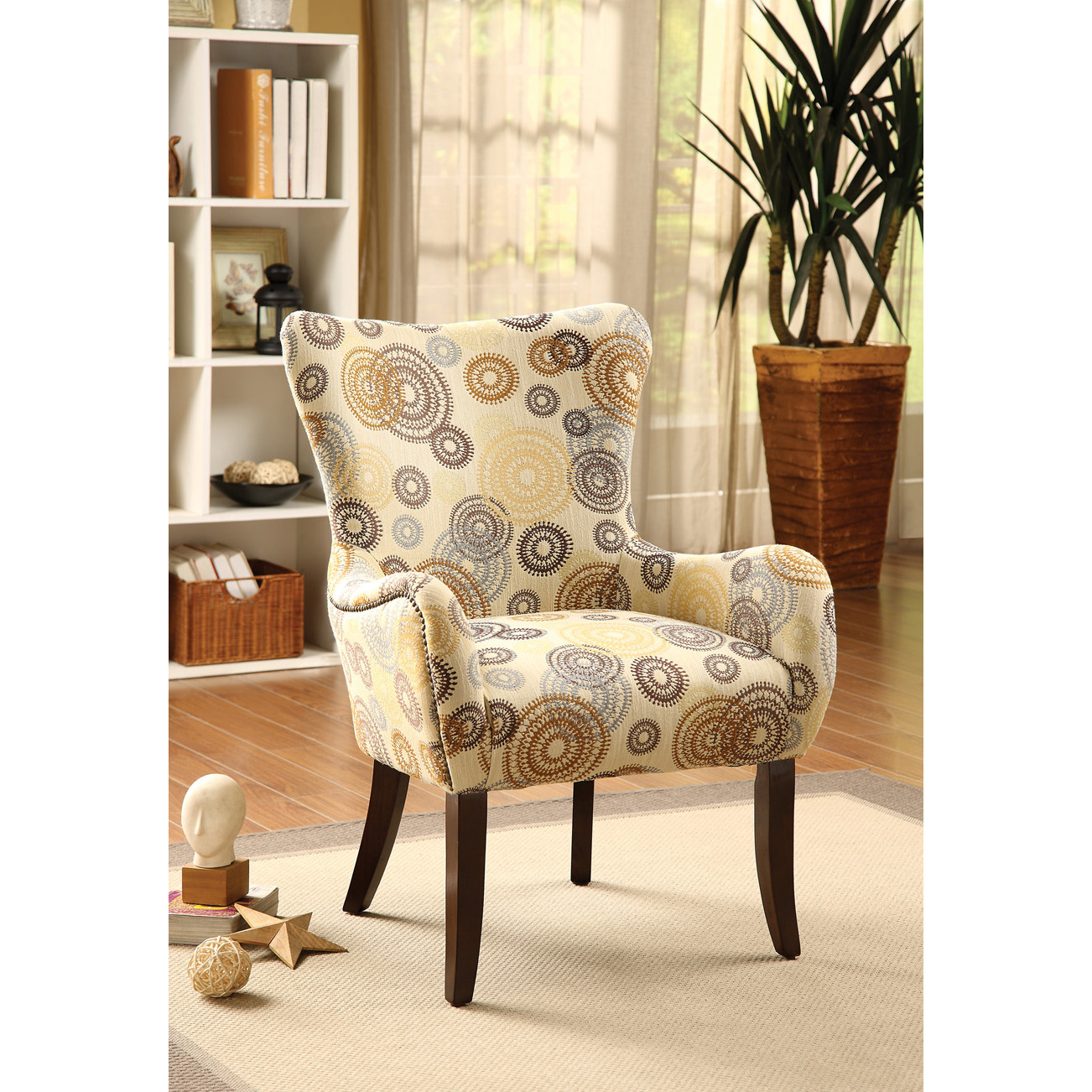 Image of: Install Oversized Accent Chairs