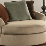 Large Swivel Accent Chair