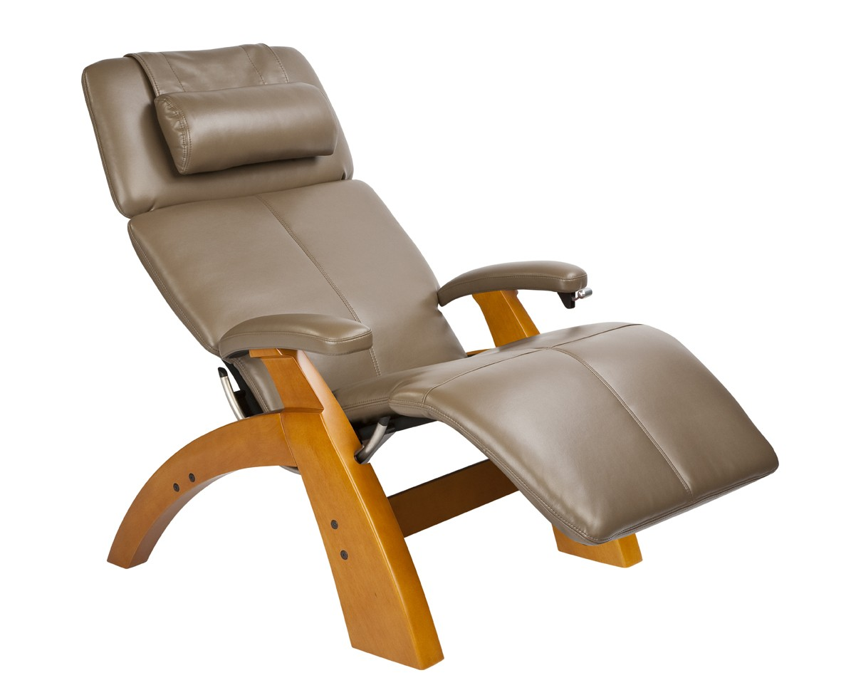 Image of: Leather Reclining Desk Chair