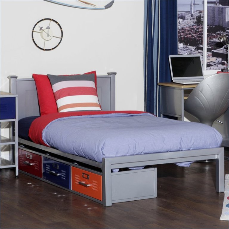 Image of: Locker Bedroom Furniture Full Photos