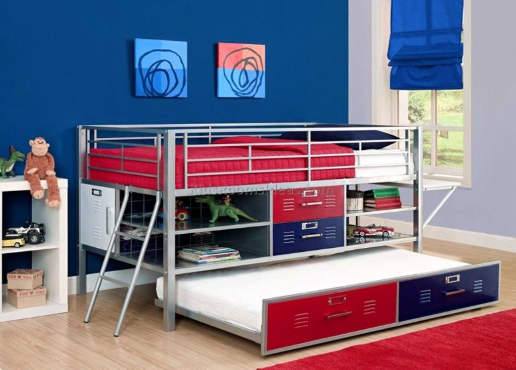 Image of: Locker Look Bedroom Furniture
