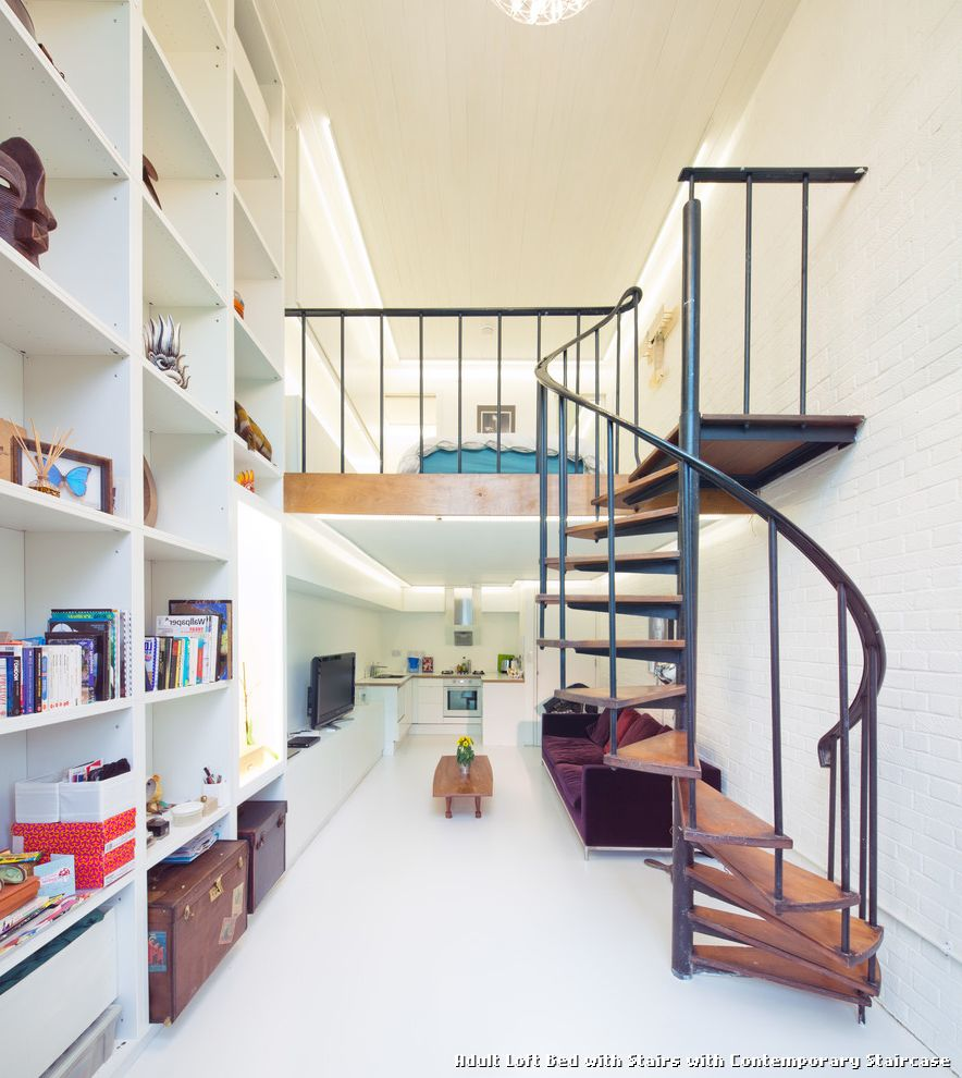 Loft Bed With Stairs Cheap