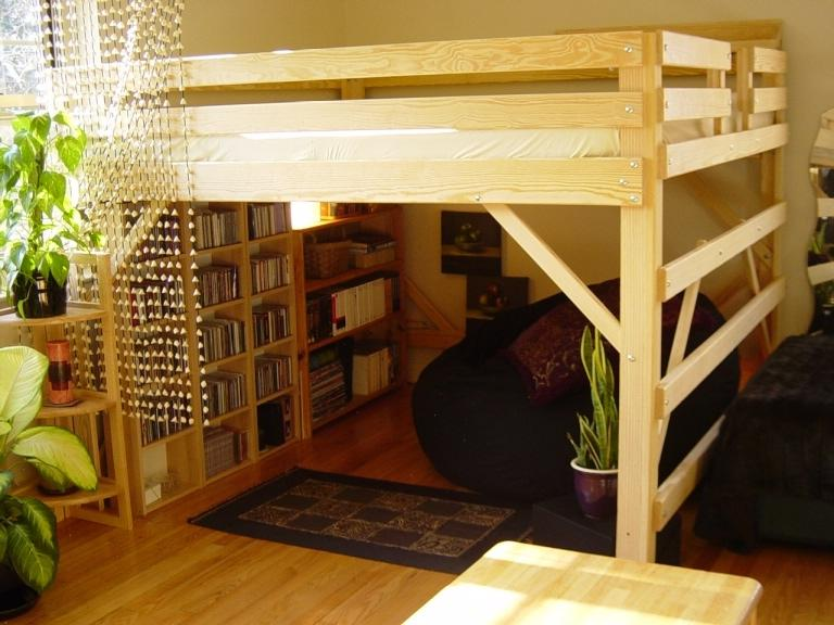 Image of: Loft Bed With Stairs Uk