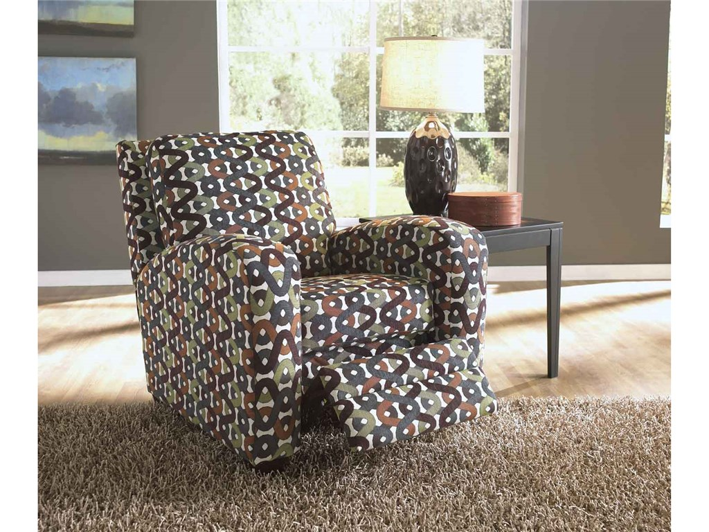 Image of: Lovely Reclining Accent Chair