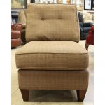 Luxury Armless Accent Chair