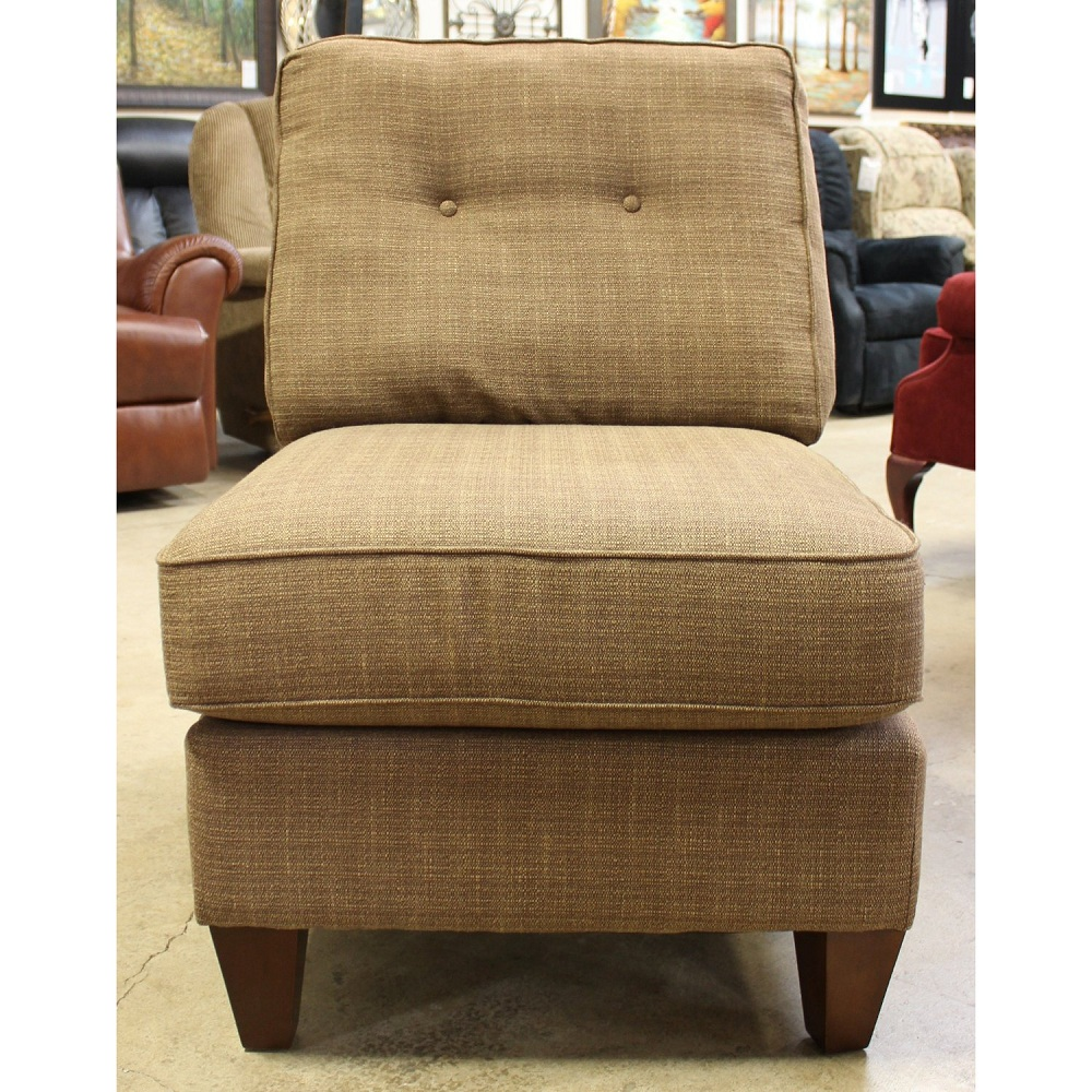 Image of: Luxury Armless Accent Chair