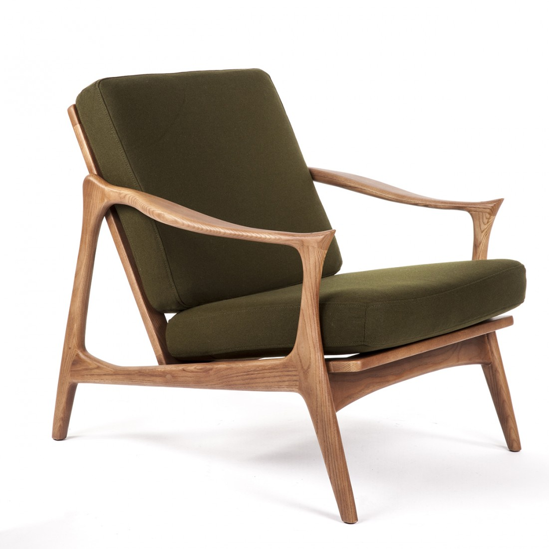Image of: Luxury Mid Century Lounge Chair