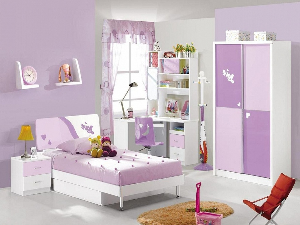 Image of: Luxury Toddler Girl Bedroom Sets