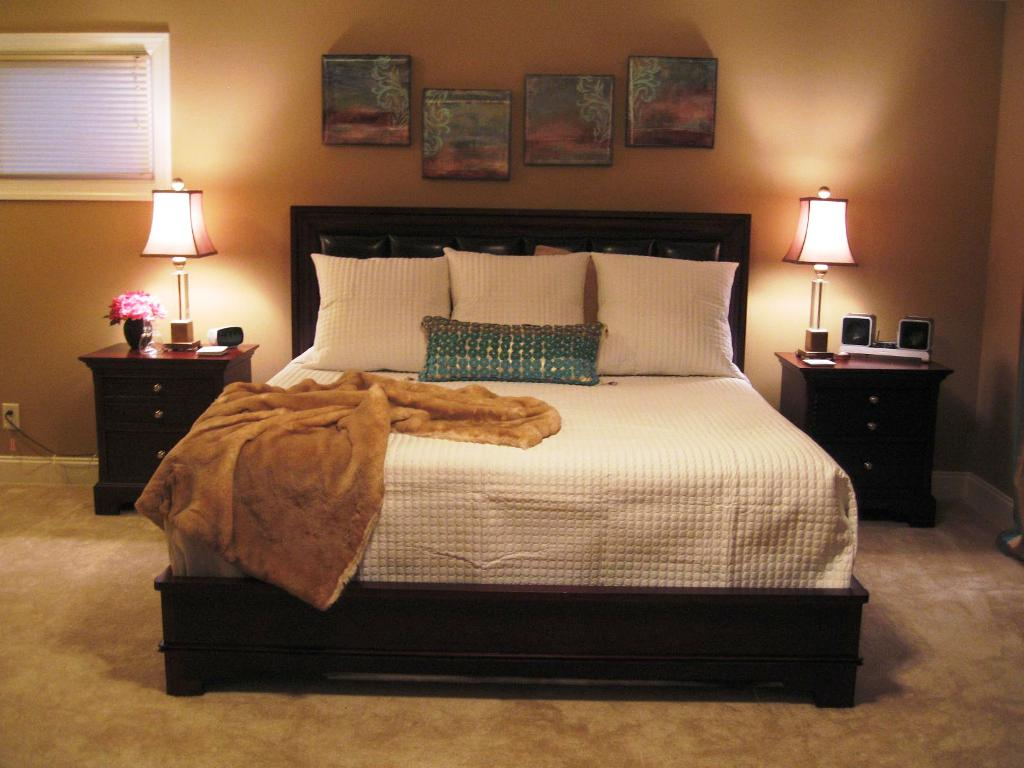 Image of: Master Bedroom Decorating Ideas Houzz