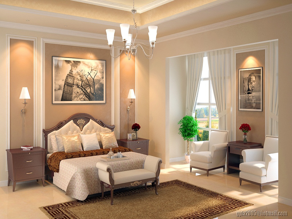 Image of: Master Bedroom Design Ideas for Small Rooms