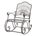 Metal Patio Rocking Chair