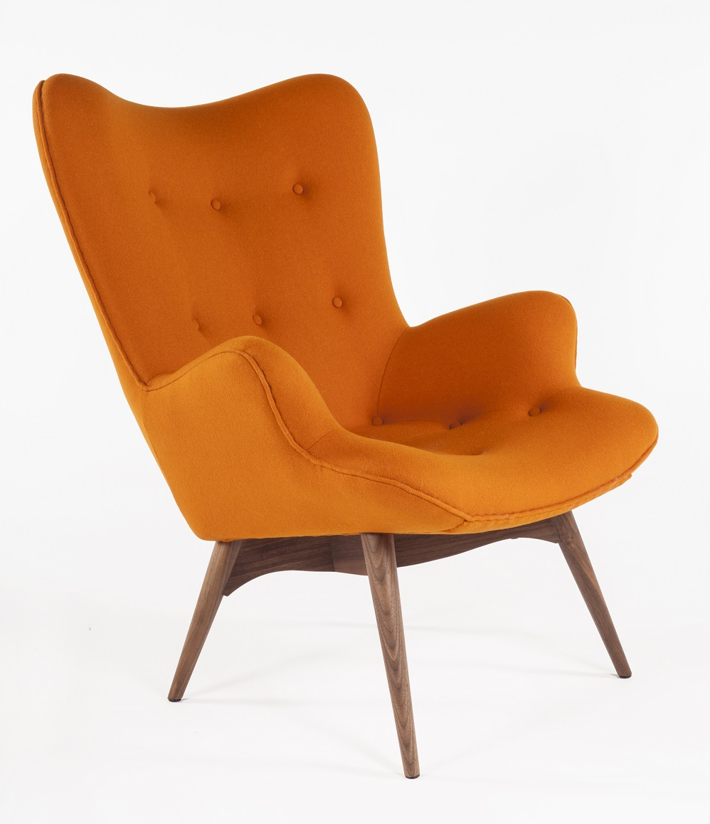 Image of: Mid Century Lounge Chair Picture