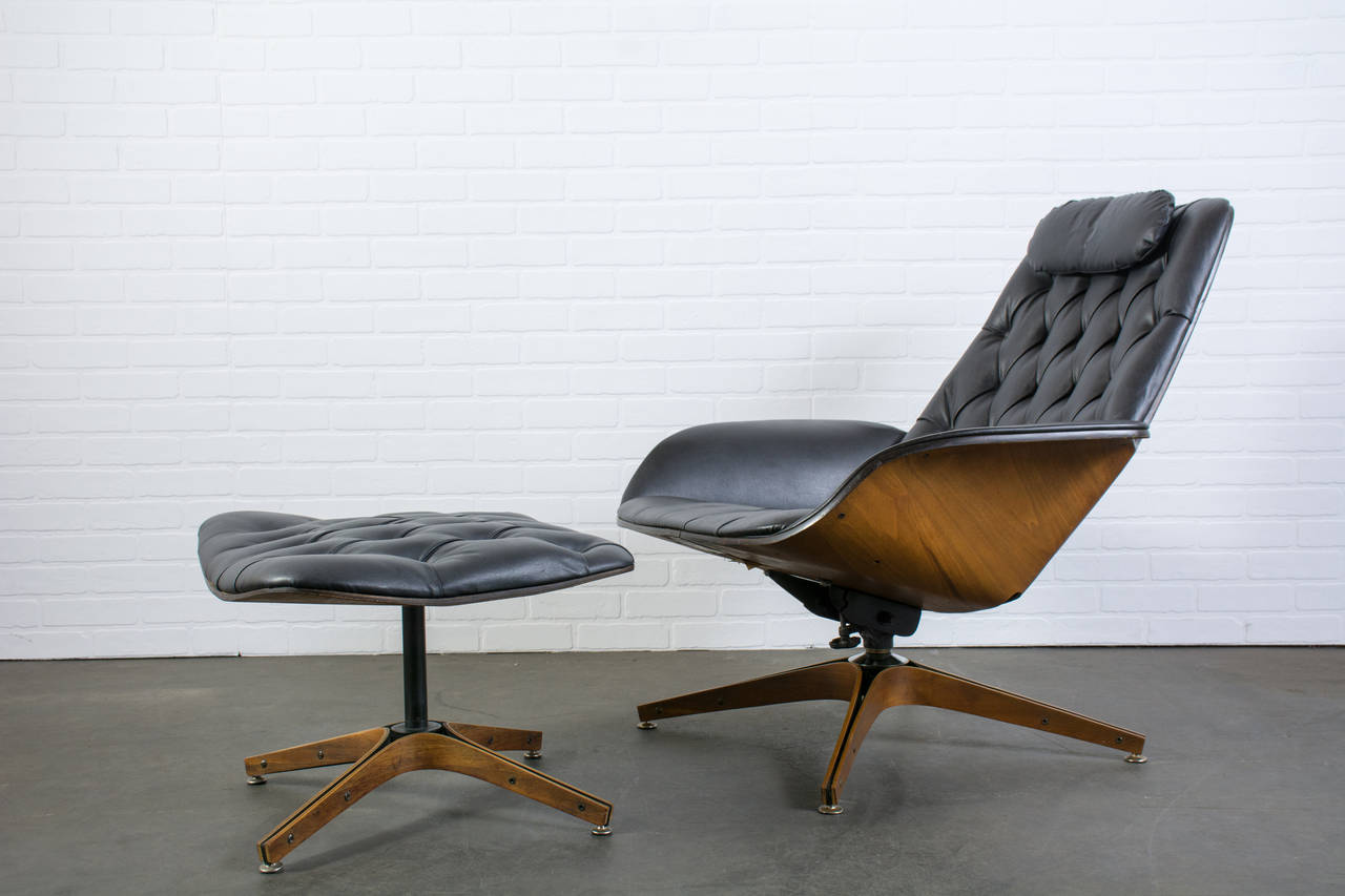 Image of: Mid Century Modern Lounge Chair Image