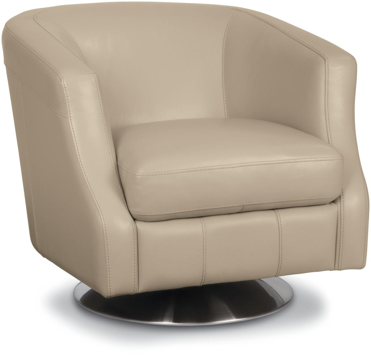 Image of: Minimalist Swivel Accent Chair