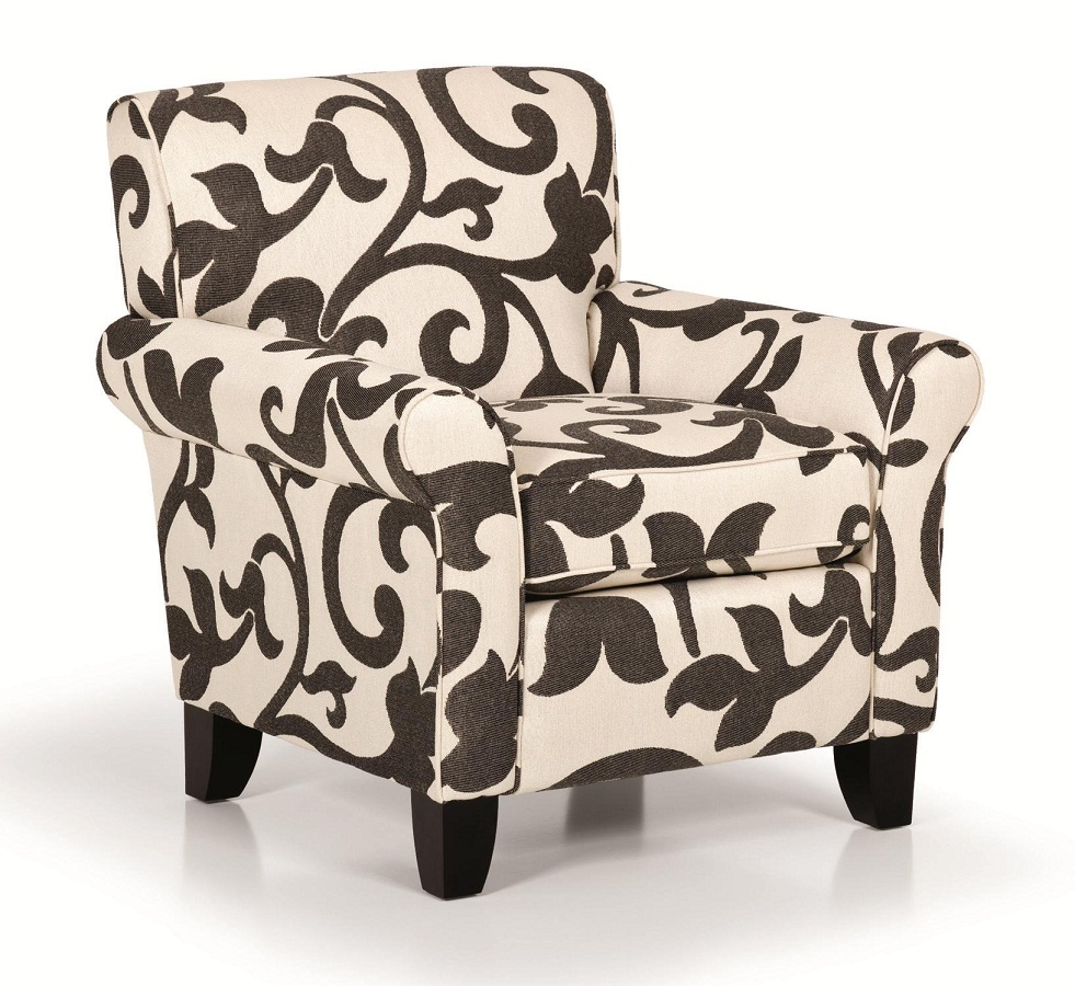 Image of: Modern Accent Chairs with Arms Color
