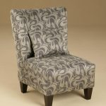 Modern Armless Accent Chair