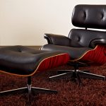 Modern Eames Lounge Chair and Ottoman
