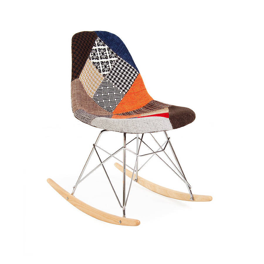 Image of: Modern Eames Rocking Chair
