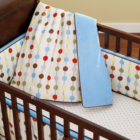 Modern Gender Neutral Crib Bedding