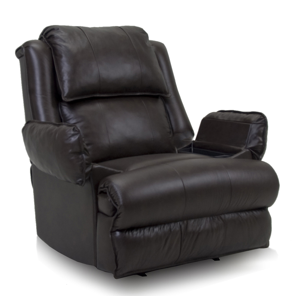 Image of: Modern Leather Recliner Chair