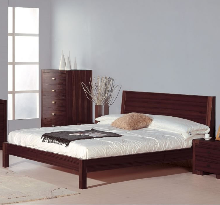 Image of: Modern Platform Bed Furniture Chicago