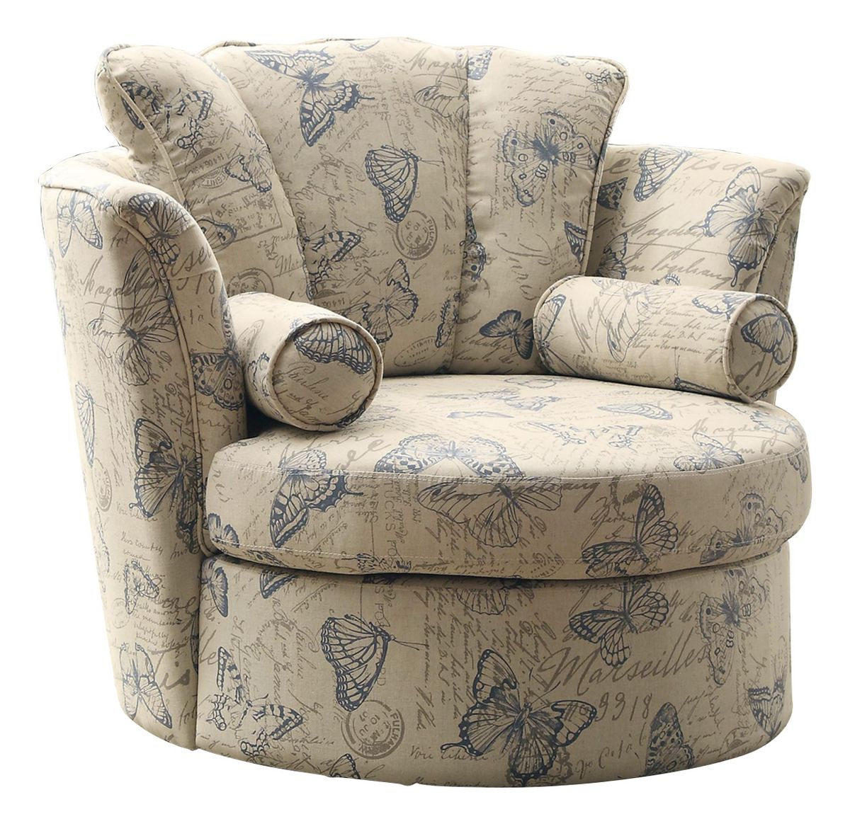 Image of: Modern Swivel Accent Chair