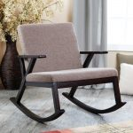 Modern Upholstered Rocking Chairs